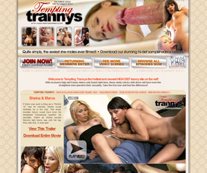 Join Tempting Trannys Now! - 100% SAFE SECURE & PRIVATE!