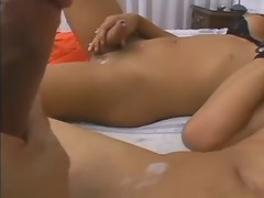 Trannys ass gets stuffed full of big hard cock