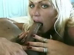 Lusty tranny and guy jizz by turns after hard fuck