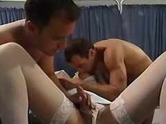 Dirty shemale nurse seduces doctors