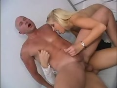 Botan girl and big beautiful tranny fucking w dude