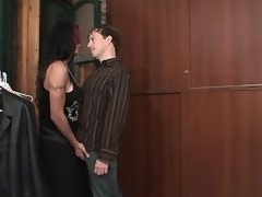 Dude sucks brunette tgal n jizzes after assfucking
