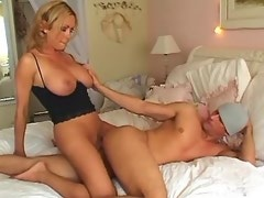 Hot shemale fucks sweet dude and gets cum on cock